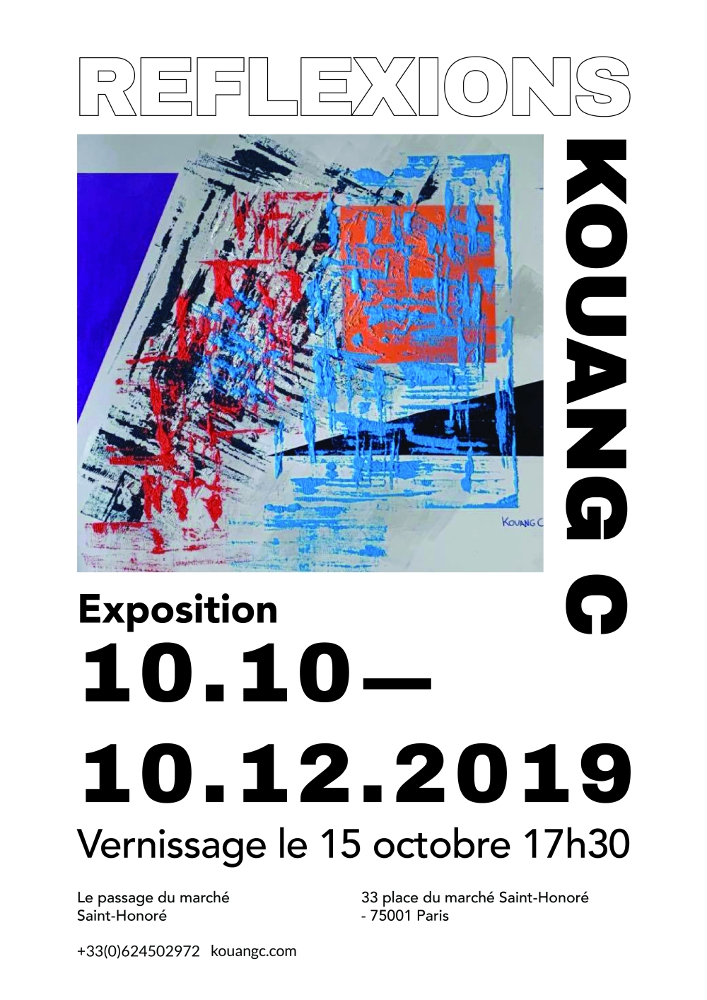 Affiche Expo Reflexions
